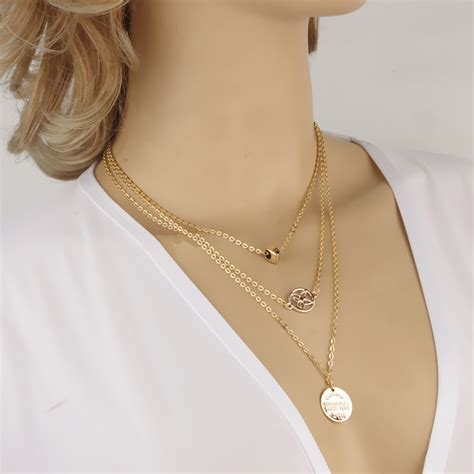 for short neck best suited necklaces women s alloy round pierced heart butterfly necklace 3