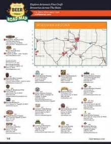 arizona breweries map az trail maps the map and