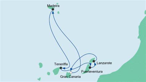 aidaprima neue route kanaren kreuzfahrten auf einer kanaren kreuzfahrt die