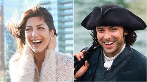 poldark star aidan turner s new girlfriend is totally