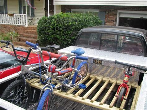 Pop Up Cer Bike Rack Plans by Truck Bike Rack Cool Things