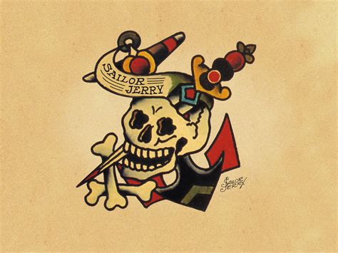 sailor jerry tattoo design june softly biker happy 100th birthday norman