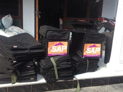 Tas Motor Barang tas kurir motor barang dengan label merk perusahaan anda
