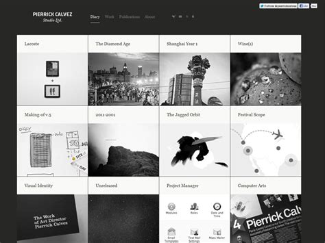 grid layout website exle 30 grid based websites
