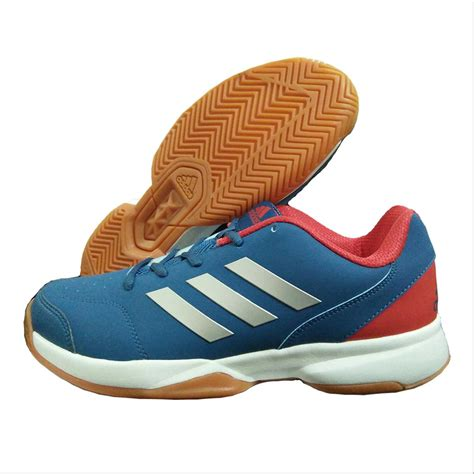 adidas badminton adidas gumption indoor badminton shoes blue white and red
