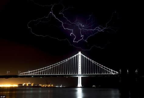 More Than 800 Lightning Strikes Hit Northern California