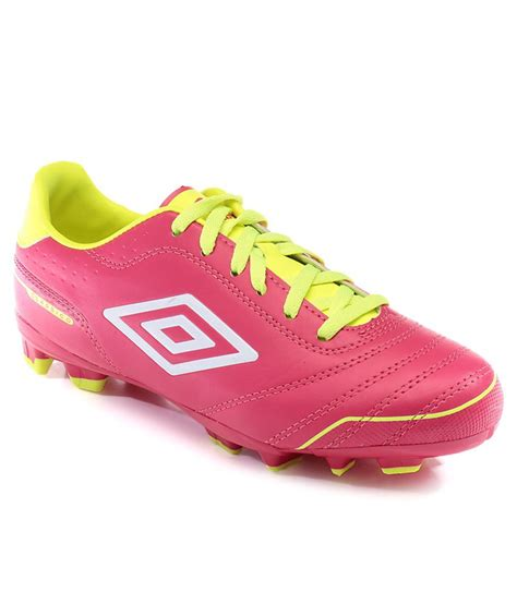 umbro pink and yellow sports shoes price in india buy