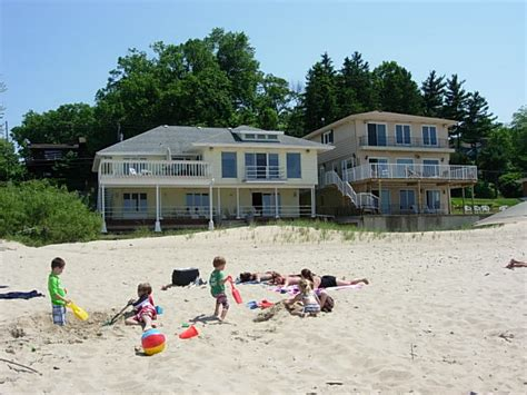 michigan lake house rentals lake michigan beach house