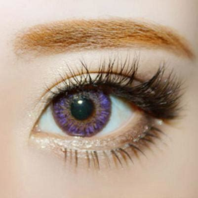 buy geo tri color violet colored contacts | eyecandys
