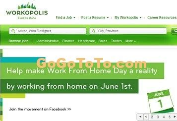 Working Online From Home In Canada - national work from home day in canada go find to get