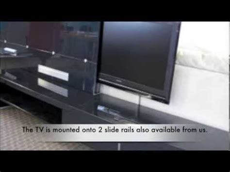 Tv Lsidi ikea cabinet with automatic slide out tv mechanism from