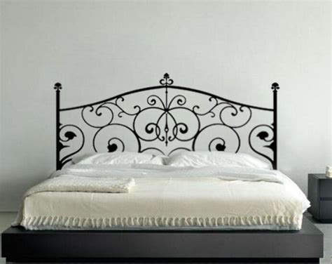 headboard wall art wall decor decal sticker removable vinyl headboard wall