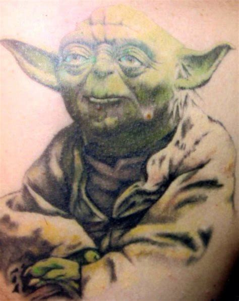 yoda tattoos 57 unique wars yoda tattoos