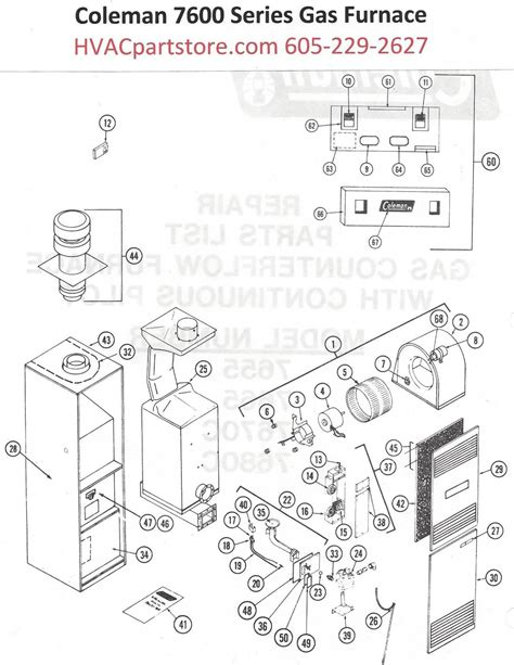 gas furnace thermal coupler replacement wiring diagrams
