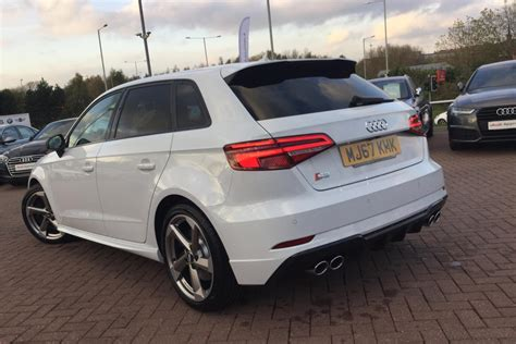 Audi S Tronic 7 Speed by Used 2017 Audi A3 2 0 Tdi Black Edition 5dr S Tronic 7