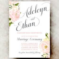 printable wedding invitations by charm digital wedding invitations