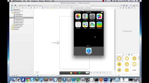 xcode tutorial iphone ios 6 ios application development tutorial 1 basics of ios 7