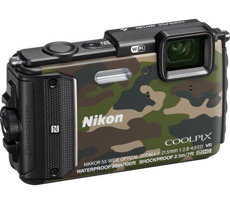 nikon tough buy nikon coolpix aw130 tough compact camouflage