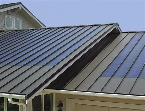 pictures of houses with metal roofs apple tree roofing knoxville tn roofing contractors fusionsolar standing seam