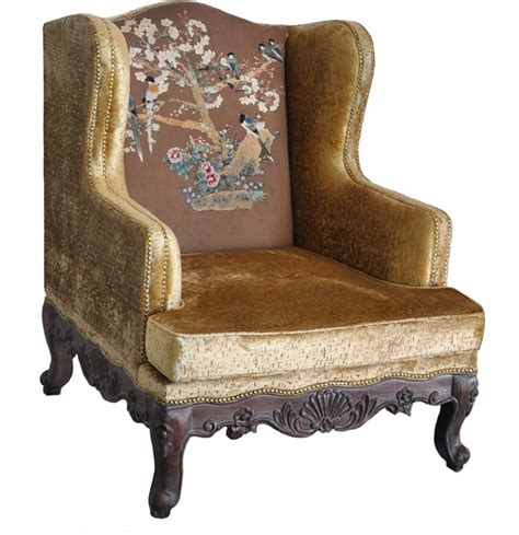 Multi Colored Armchair by Athena Home Classical Armchair Armchair Multi Colored Models Of Luxury Villas Study Lounge Chair