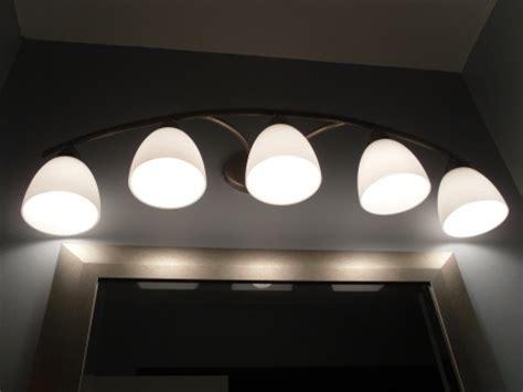 Bathroom Lighting Over Vanity Bathroom Mirror With Lighting Led Bathroom Light Fixtures