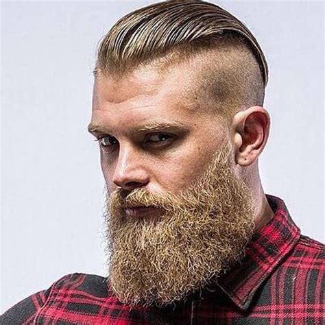 slick back hair and beard manly haircuts and beards men s hairstyles haircuts 2017