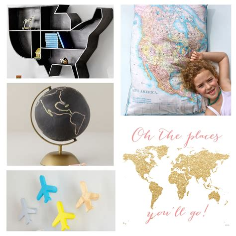 travel bedroom decor travel inspired decor for nurseries and kids rooms