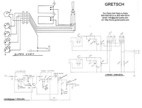 index of inf wiring gretsch