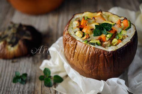 cucinare le melanzane tonde melanzane tonde ripiene con verdure ricetta leggera arte