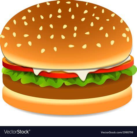 free royalty free clipart burger royalty free vector image vectorstock