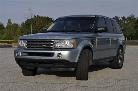 used range rover indianapolis sell used 2006 land rover range rover sport hse 4 4l v8