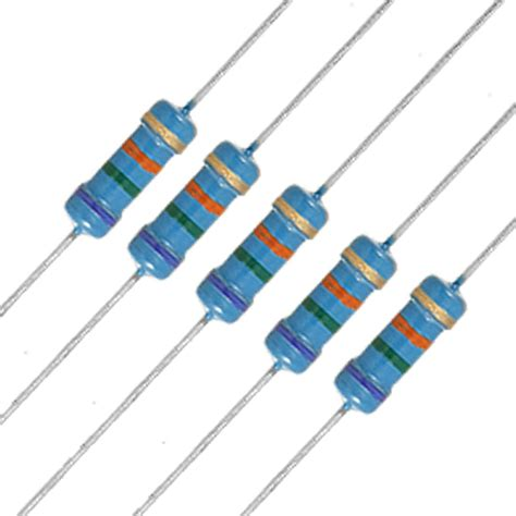 current capacity of 0 ohm resistor 20 x 1 2w watt 75k ohm 75kr carbon resistor 0 5w fk ebay