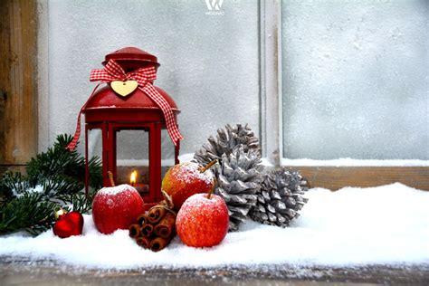 fensterbrett weihnachtlich dekorieren das fensterbrett als platz f 252 r die weihnachtsdekoration