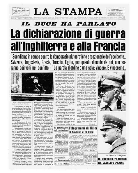 prima in italia l italia e la seconda guerra mondiale