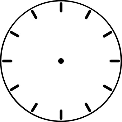 blank clock template blank clock template clipart panda free clipart images