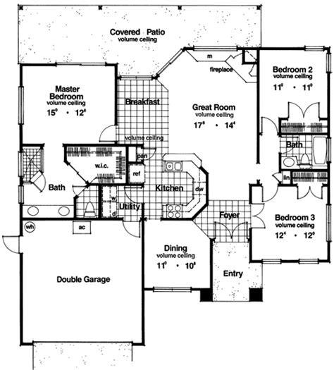 2 story villa floor plans contemporary house plan with 3 bedrooms and 2 5 baths