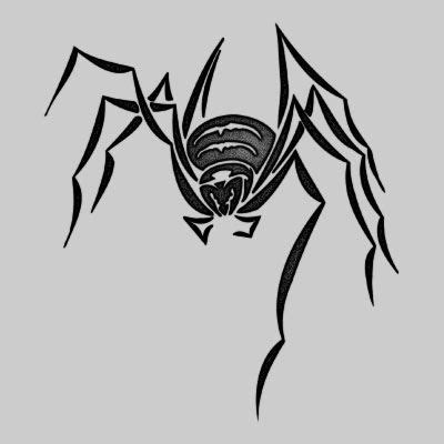 spider tattoo tribal tribal spider new tribal spider design