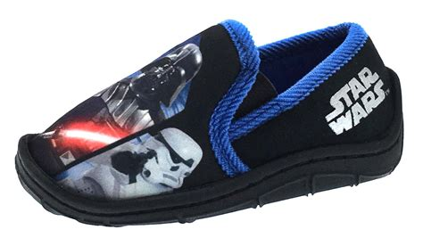 wars slippers boys disney wars slippers slip on novelty