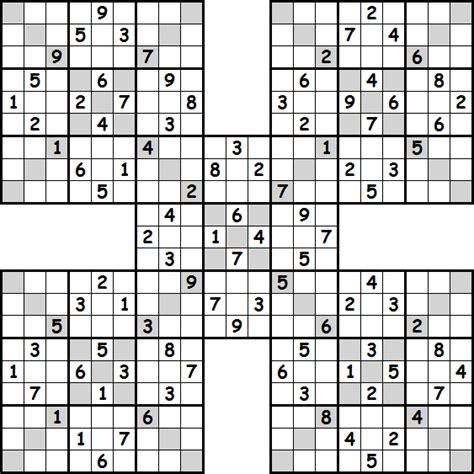 printable sudoku sle sudoku puzzle sudoku variations pinterest