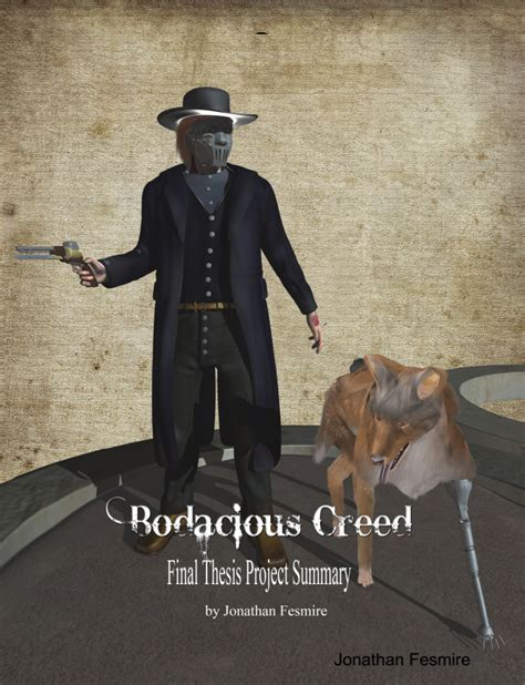 bodacious creed thesis cover by jonathanfesmire on