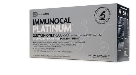Sc Platinum Original From Uk 1 immunocal platinum 30pk source glutathione quot original quot by immunotec ebay