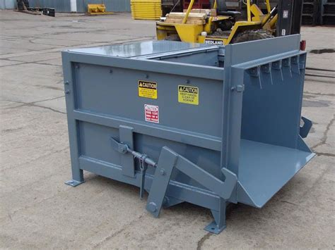 how does a commercial trash compactor work small commercial compactors nedland stationary compactors