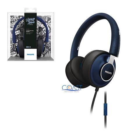 Headphone Philips Shl5605 Genuine philips shl5605 citiscape downtown headphones stereo headset with universal mic ebay