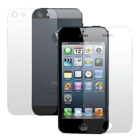 Folie Entfernen Iphone by Displayschutzfolie F 252 R Iphone 5s 5se 5c 5 Front Back 2 Tlg