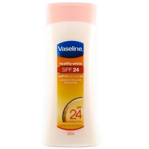 Vaseline Healthy White Spf 24 200ml vaseline healthy white spf 24 vitamin b 3 lotion