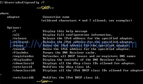 tutorial hack cmd basic command line for tcp ip and networking in windows