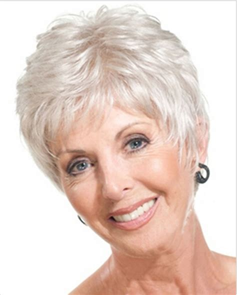 Short Gradient Grey Hairstyles For Women Over 50 | short gradient grey hairstyles for women over 50 sehr