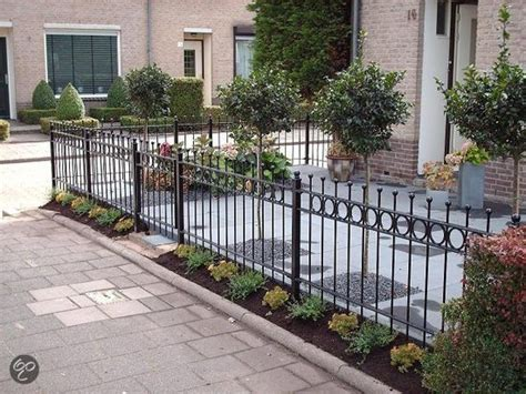 tuin hek metaal 30 cm hoog bol luxus tuinhekje lichtenvoorde 590 x 80 cm incl