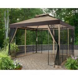 Temporary Awnings Garden Winds Replacement Gazebo Canopy Garden Winds