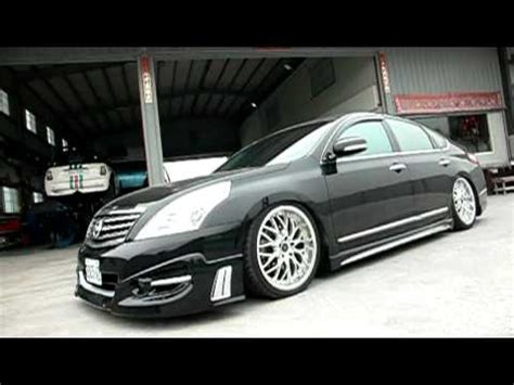 nissan teana modified nissan teana j32 with airrex digital air suspension system